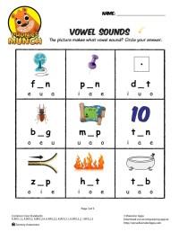 Vowel Sound Worksheets. Worksheets. Ratchasima Printable ...
