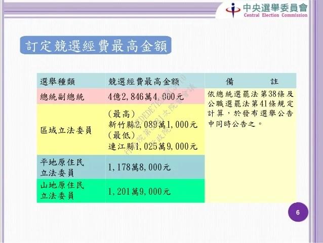 20151231中央選舉委員會:「第14任總統副總統及第9屆立法委員選舉籌辦情形」報告