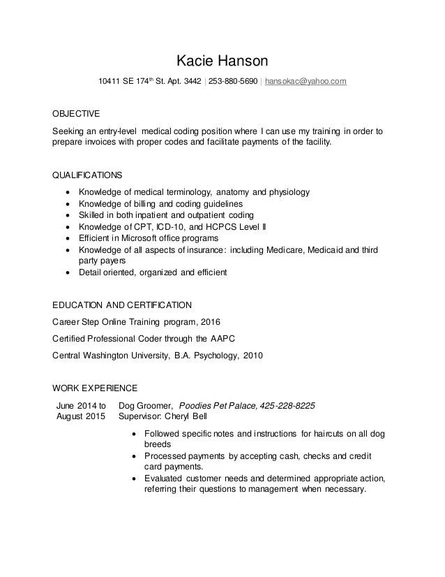 CPC Resume