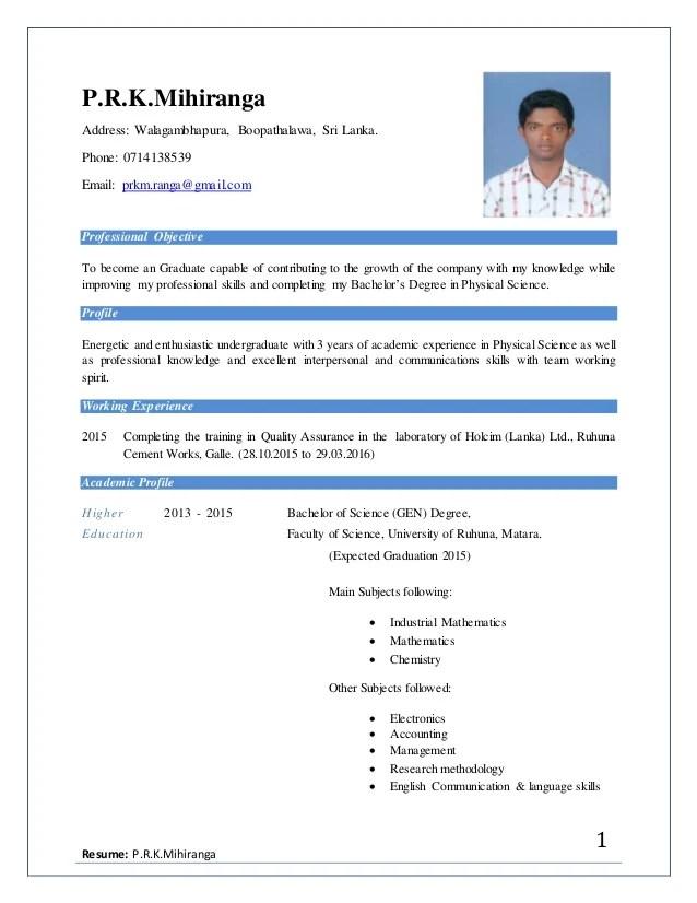 Newest CV