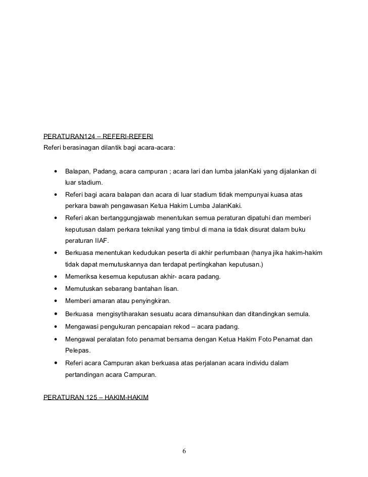 Peraturan Olahraga : peraturan, olahraga, Peraturan, Olahraga