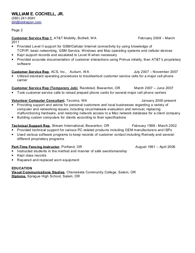 resume services tacoma wa