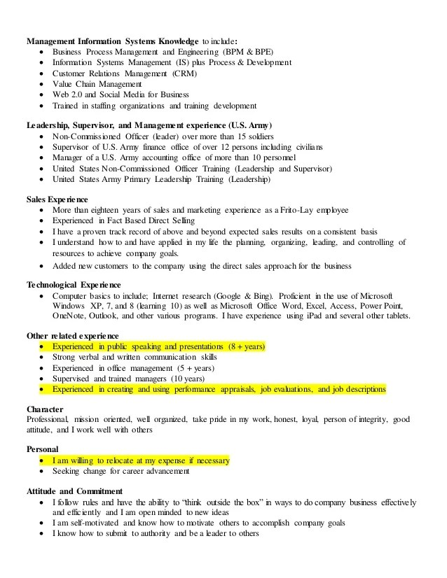 HUman Resources Cover letter 1 and resume sales and leadership added