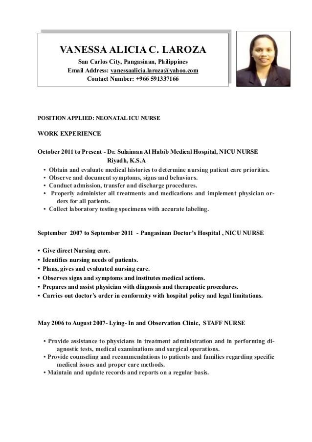Vanessa Laroza  RESUME pdf