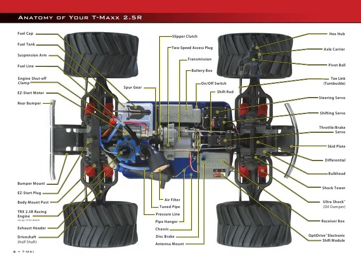 traxxas t maxx 2 5 transmission diagram ge oven parts 4902 manual