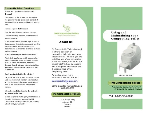 Tri Fold Brochure Example