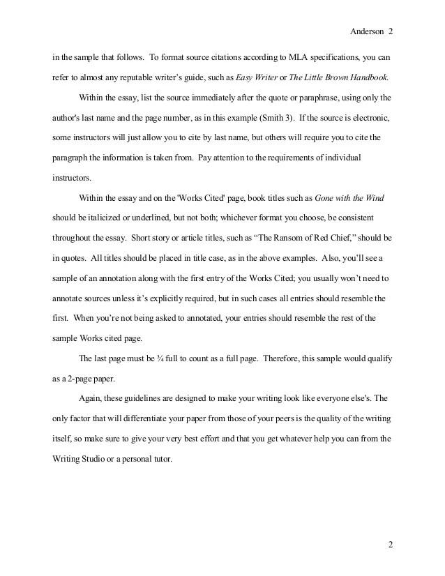 Research Paper Addendum
