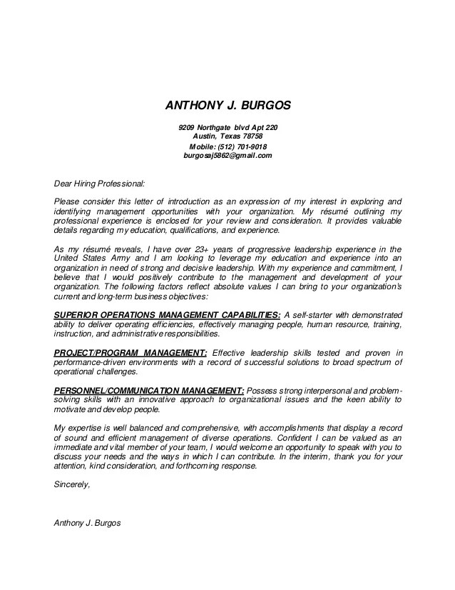 New Burgos Cover Letter ANTHONY J