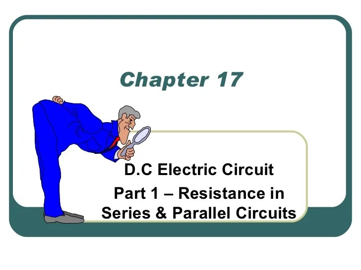 Electric Circuits Ppt Slides