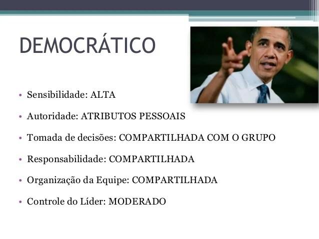 Resultado de imagem para líder democrático