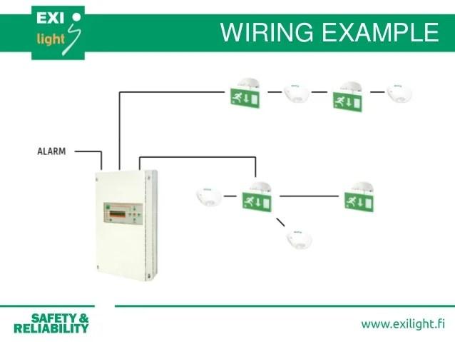 Wiring Emergency Lighting