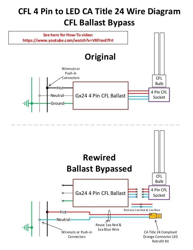 4 pin ballast wiring diagram