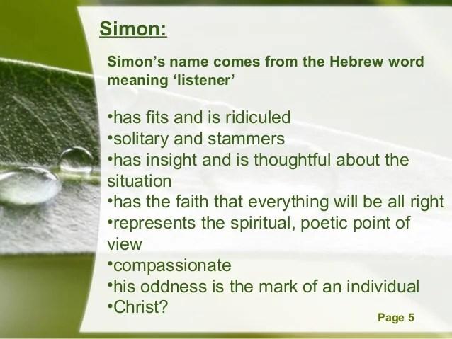 4 simon poem