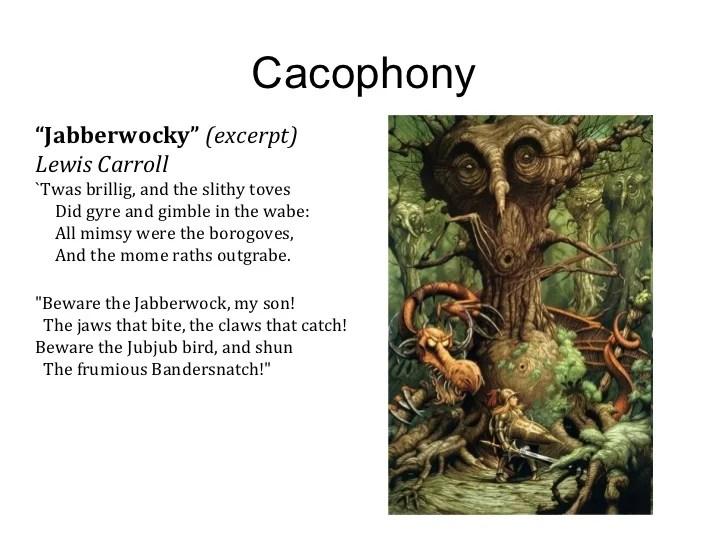 5 Cacophony Caesura Catharsis