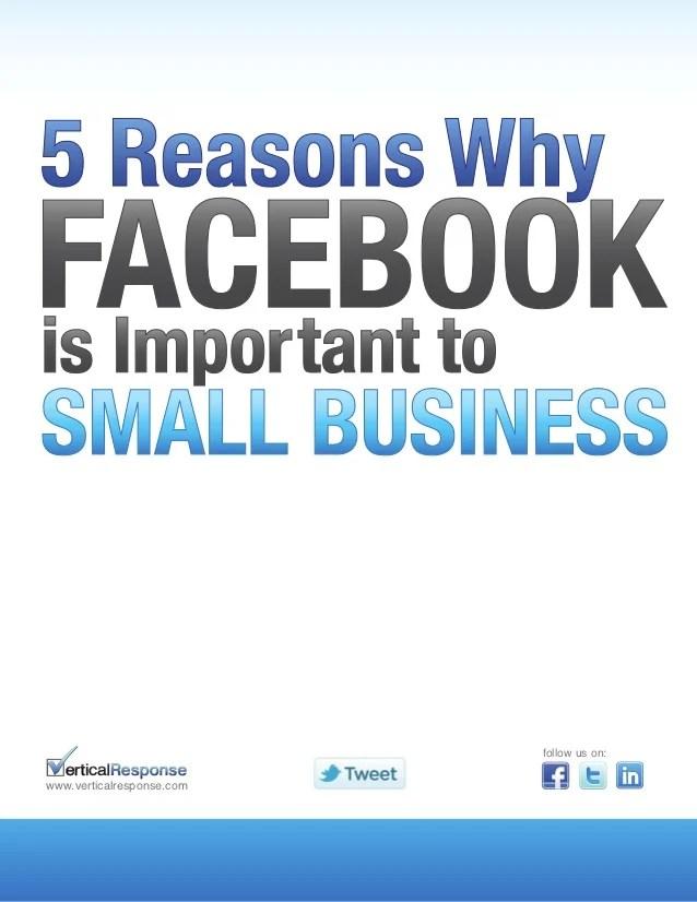5 Reasonswhyfacebookisimportanttosmallbusiness
