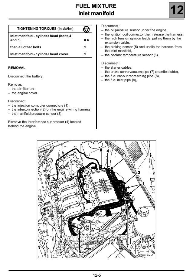 renault clio engine coolant