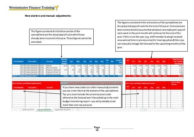 Budget holder training v3