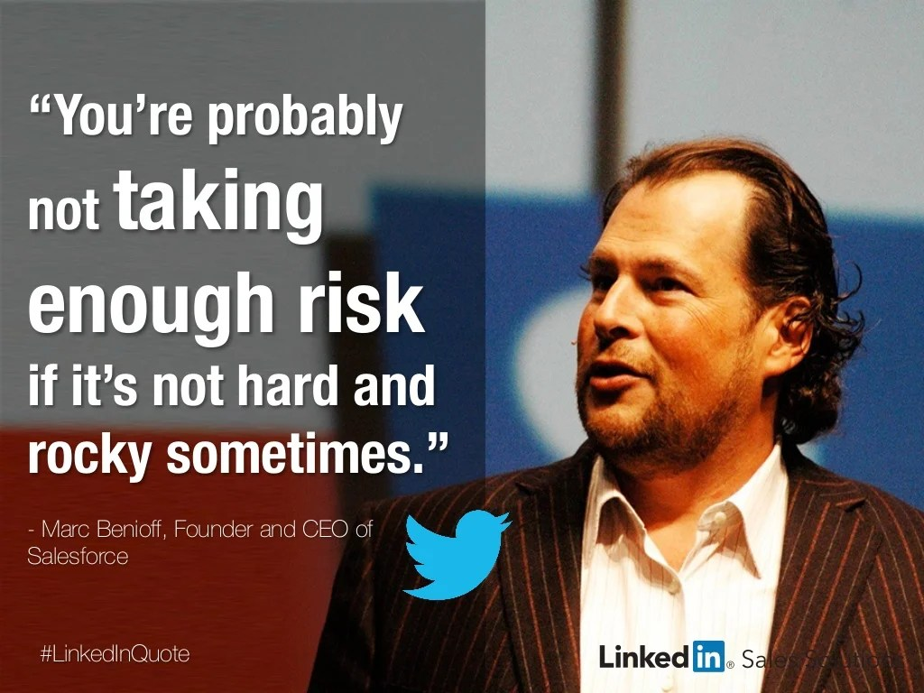 Linkedinquote You Re Probably Not Taking