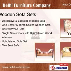 Designer Sofa Sets With Prices In Delhi Sectional Contemporary Wooden Bed By Furniture Company (p) Ltd., New