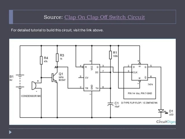 Simple Electronic Buzzer Circuit Diagram