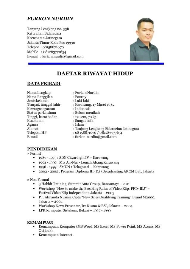 FOURQY CV Formal 1
