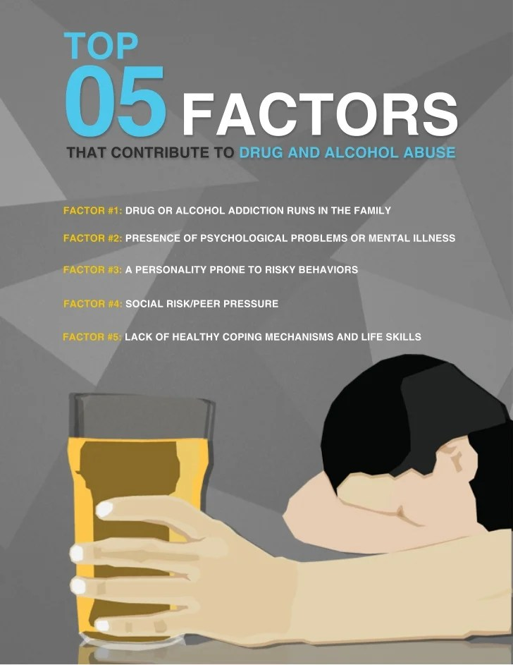 5 Factors that Contribute to Drug Abuse