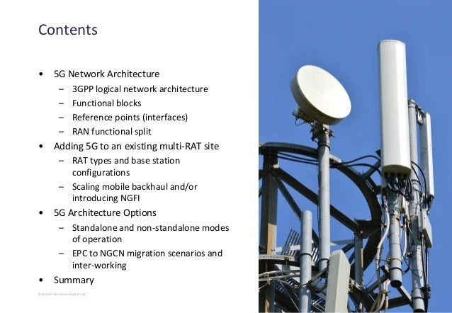 5G Network Architecture and Design
