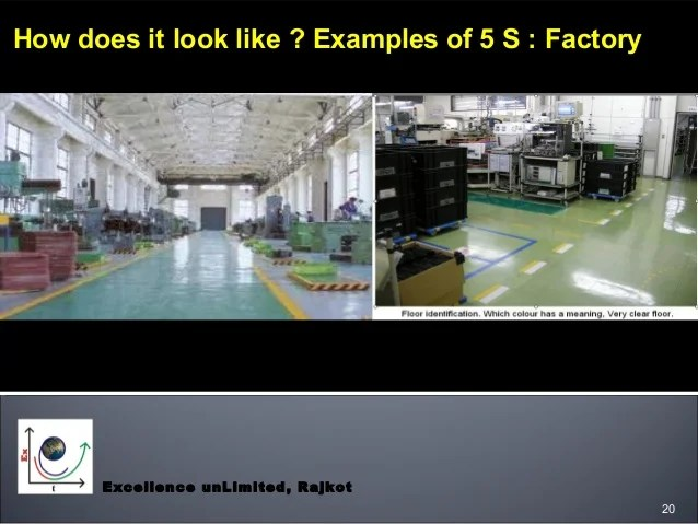 5s Visual Factory Examples
