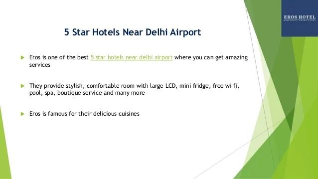 5 Star Hotels Near Delhi Airport