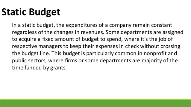 5 Types of Budgets a Managerial Accountant Must be Aware of