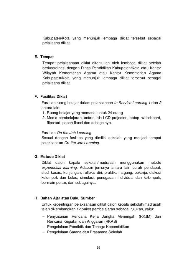 Contoh Biodata Calon Kepala Sekolah Contoh Spa Cute766