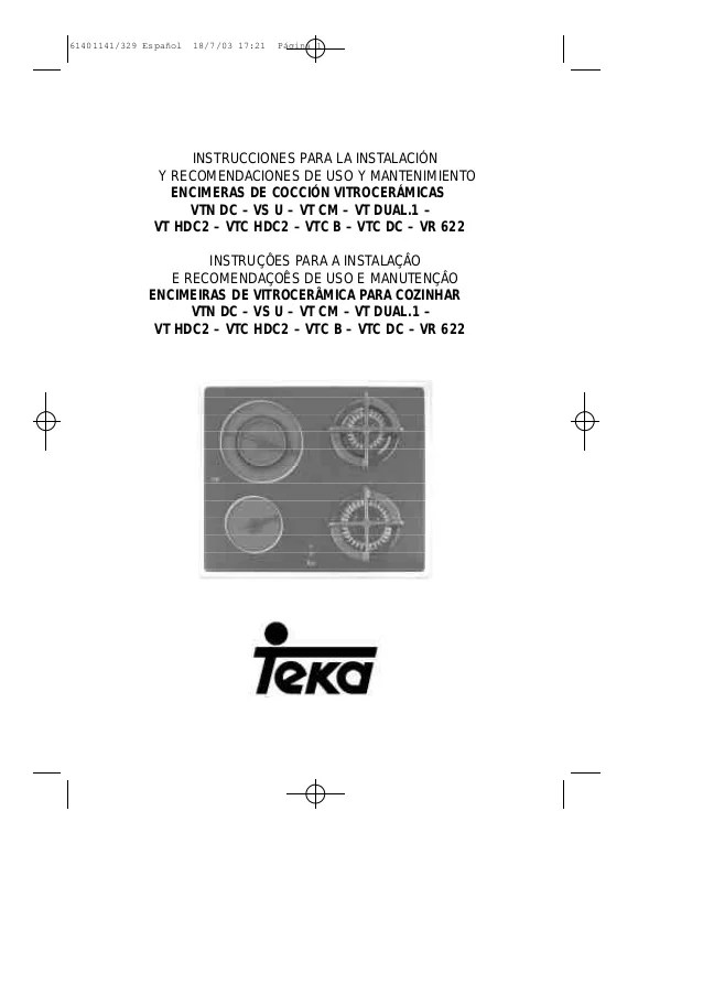 Encimera Teka VT N DC