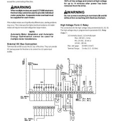 Danfoss Vlt 6000 Wiring Diagram Strawberry Fruit Thong Số Series 18 Is A Registered Trademark Whenmultiplemotorsareused Vlt6000electronic Thermalrelaycannotbeusedtoprovideindividual Motorprotection