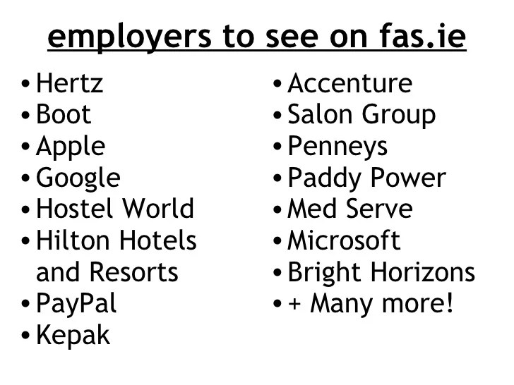 How to find the best FAS jobs