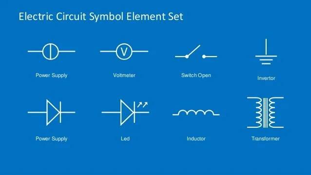 variable transformer wiring diagram use the tree to predict probability electric circuit symbols element set for powerpoint - slidemodel