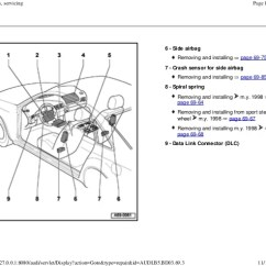 Airbag Wiring Diagram Audi A4 Pa System Speaker And Electrical B5 Simple Rh 19 2 Sweetlittlemoments De Brakes
