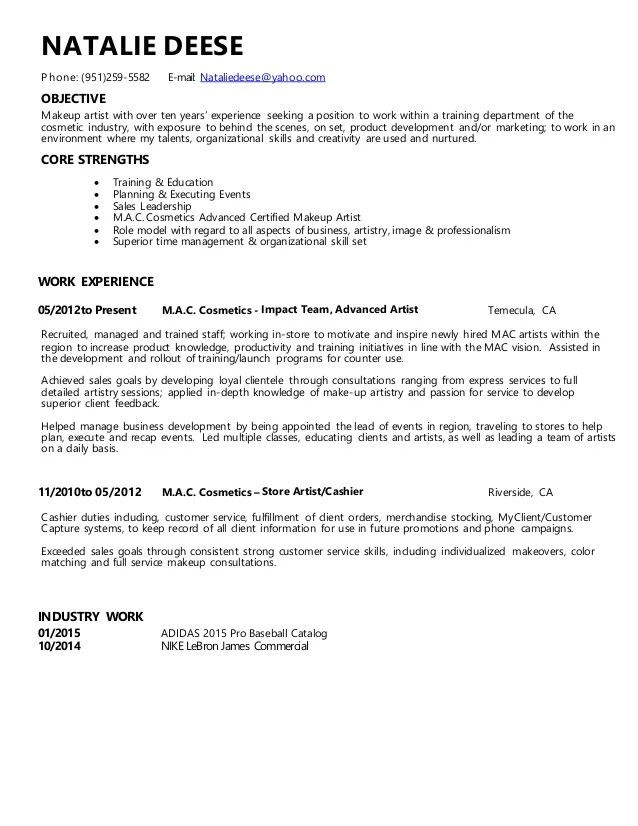 Cashier And Customer Service Resume