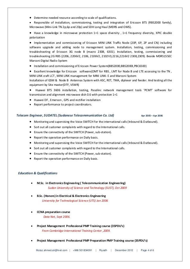 Eng Mutaz Ahmed Ali Senior Project Manager Resume