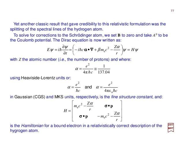 PART VII2  Quantum Electrodynamics