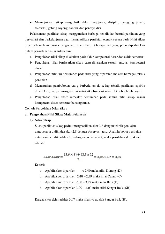 Penilaian Kompetensi Sikap Auto Electrical Wiring Diagram