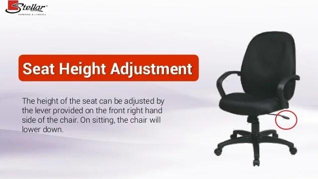 office chair adjustment levers beauty salon height x executive task 21st century use