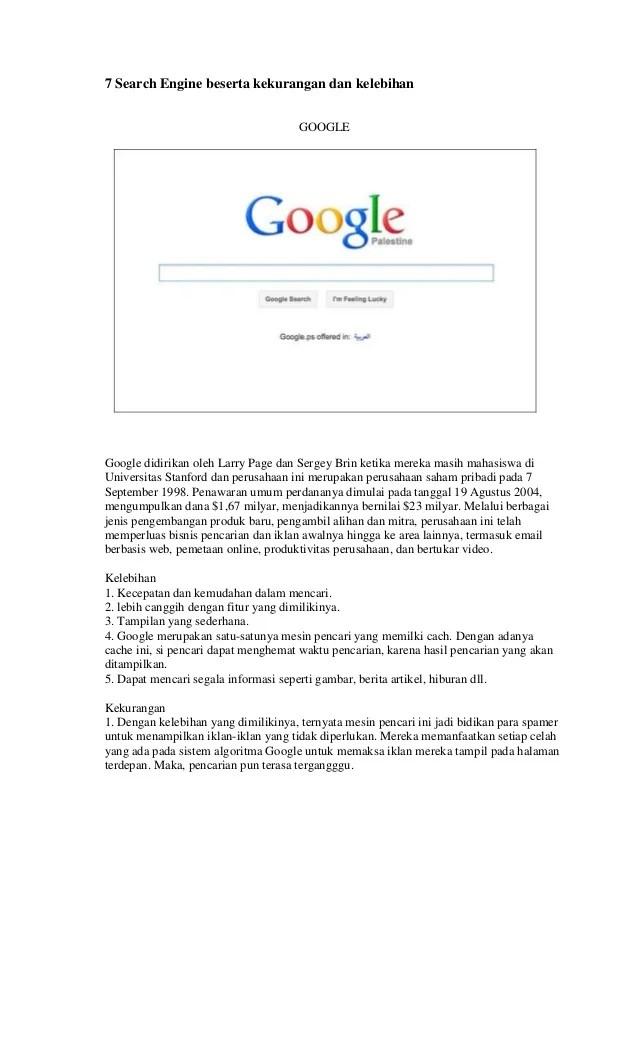Macam Search Engine - Guru Galeri
