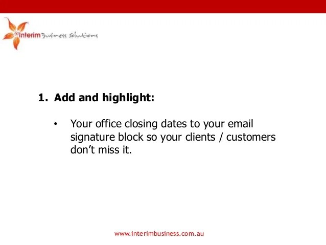 Office Closing Letter - Resume Examples | Resume Template