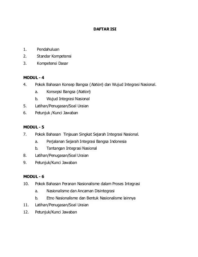 Soal Tentang Integrasi Nasional : tentang, integrasi, nasional, Modul, Integrasi, Nasional