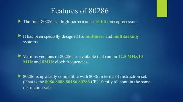 80286 microprocessor