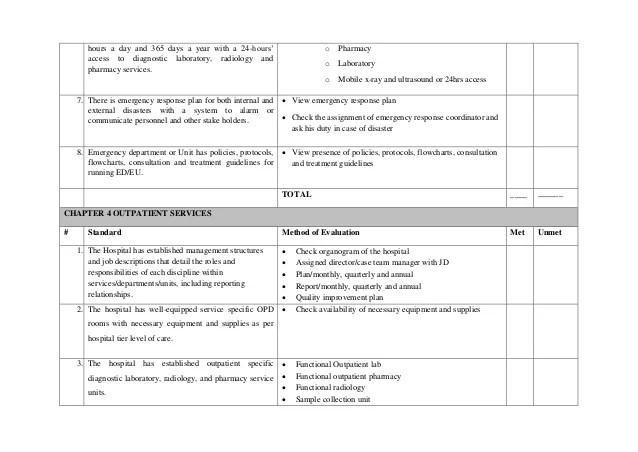 Emergency hours also ehstg assessment handbook rh slideshare