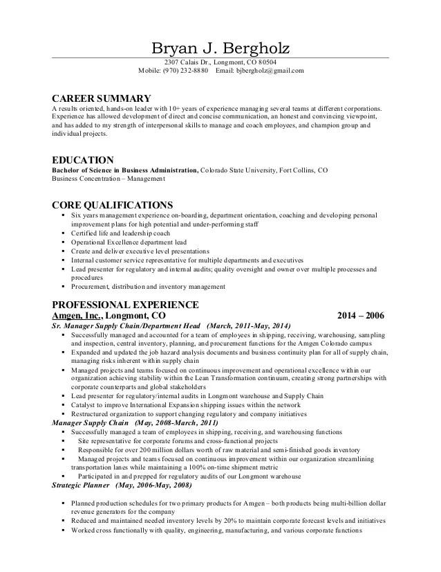 Skills based Resume New Nov 2014