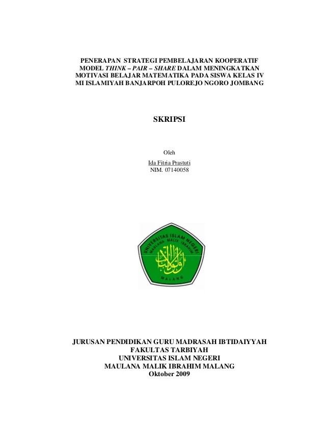 Contoh Cover Makalah Universitas Negeri Malang Contoh O Cute766