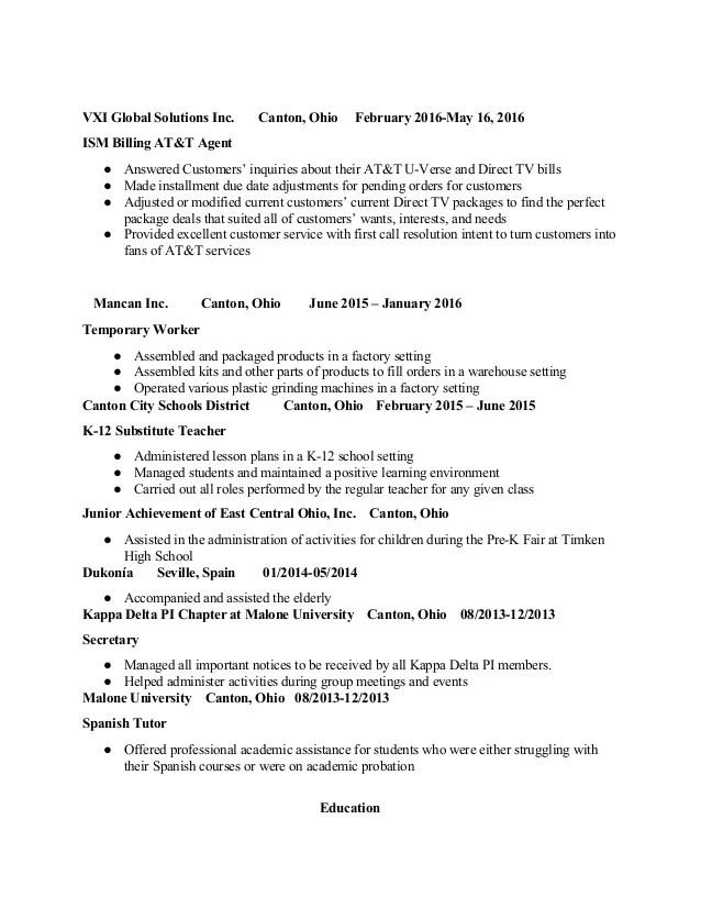 resume services canton ohio