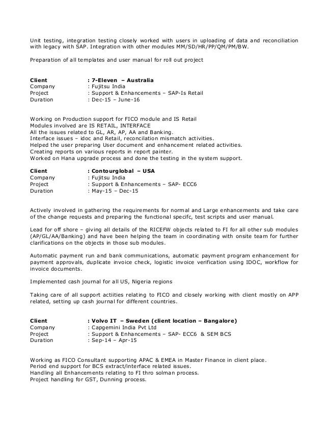 Dhanalakshmi FICO profile